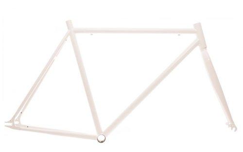 700c Fixie Frame - Wit