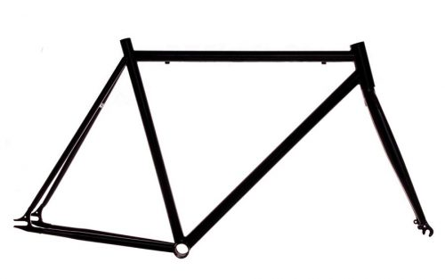 700c Fixie Frame - Zwart
