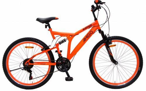 Amigo - Racer 26 Inch 48 Cm Junior 18v V-brakes Oranje