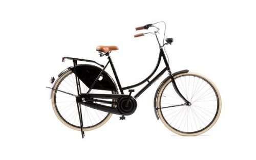 Avalon - Classic De Luxe 28 Inch 50 Cm Dames 3v Terugtraprem Zwart