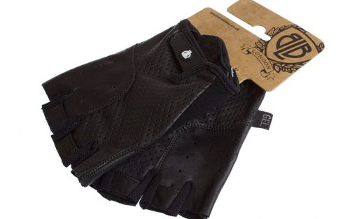 BLB Classic Sport Leather fietshandschoenen - Zwart
