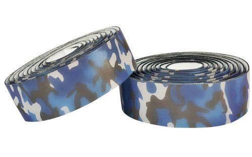 BLB Supreme Pro Reflective Stuur Tape - Camo Blue