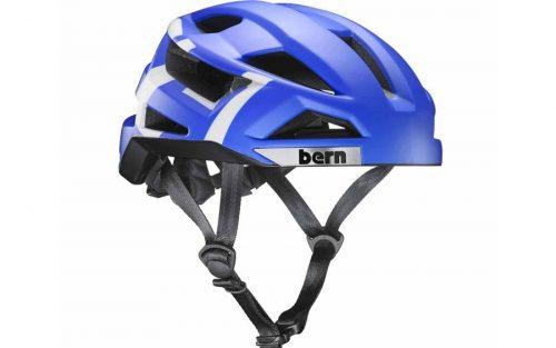 Bern FL-1 Pave Helm - Matte Royal Blue