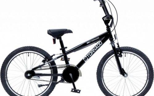 Bike Fun - Cross Tornado 20 Inch 26 Cm Junior Terugtraprem Zwart