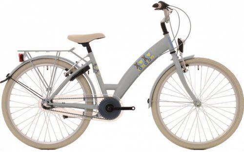 Bike Fun - Lots Of Love 24 Inch 39 Cm Meisjes 3v V-brakes Lichtbruin/grijs