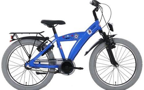 Bike Fun - Sound 20 Inch 33 Cm Jongens 3v Terugtraprem Blauw