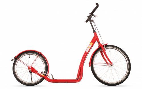 Bike Fun - Step Bike2go 24 Inch Unisex V-brakes Rood