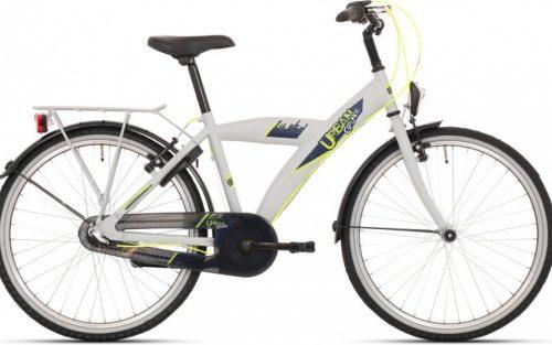 Bike Fun - Urban 24 Inch 39 Cm Jongens Knijprem Grijs