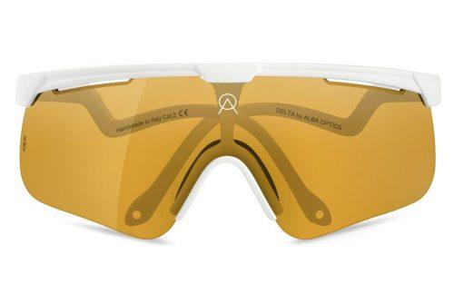 Bril Alba Optics Delta White - VZUM Fly