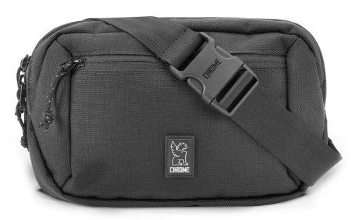 Chrome Ziptop Waistpack Rugzak - Zwart