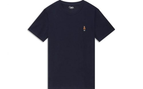 Cikkel The Cyclist Blauw T-shirt