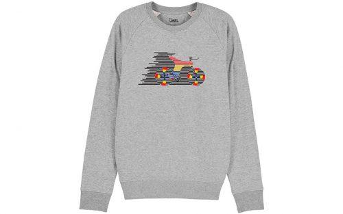 Cikkel The Sword Sweatshirt Grijs