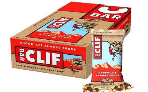 Clif Bar Energie Bar met Haver Chocolade en Amandelen (12 Stuks)