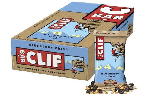 Clif Bar Energie Bar met Haver en Bosbessen (12 Stuks)