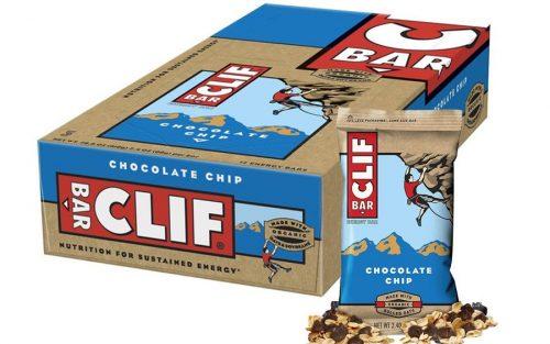 Clif Bar Energie Bar met Haver en Chocoladeschilfers (12 Stuks)
