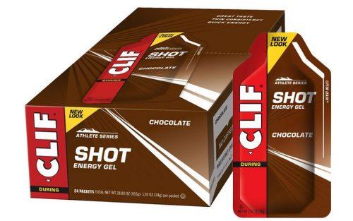 Clif Shot Energie Gel met Chocolade (24 Stuks)