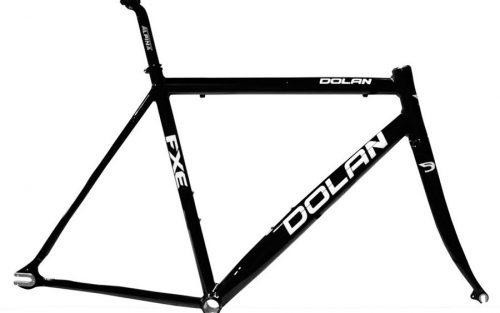 Dolan FXE Aluminium Fixie Frameset - Glanzend Zwart