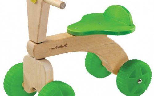 Everearth - 4 Wielen Junior Blank/groen