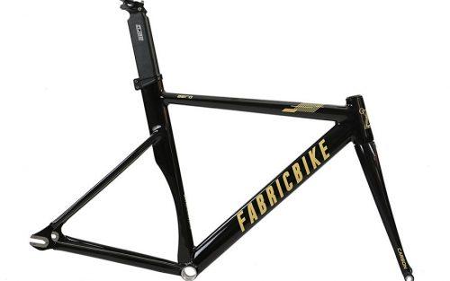 FabricBike Aero Glossy Black & Gold Frameset