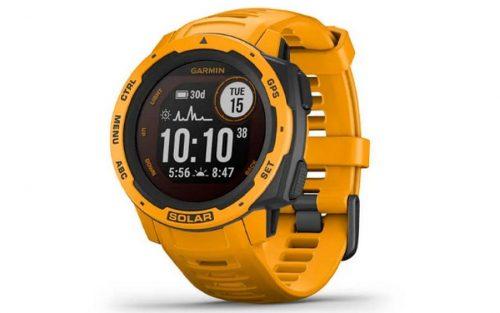 Garmin Instinct Solar Geel Smartwatch