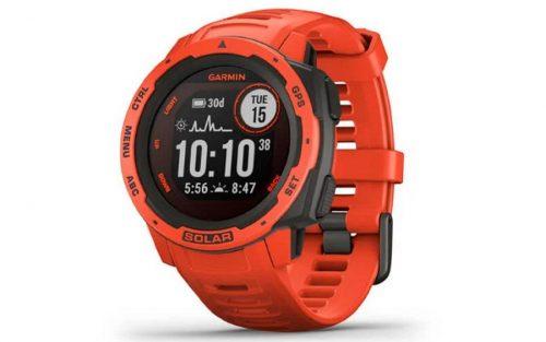 Garmin Instinct Solar Rood Smartwatch