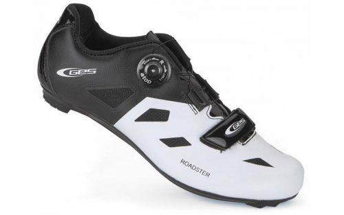 Ges Roadster Fietsschoenen - Wit/Zwart