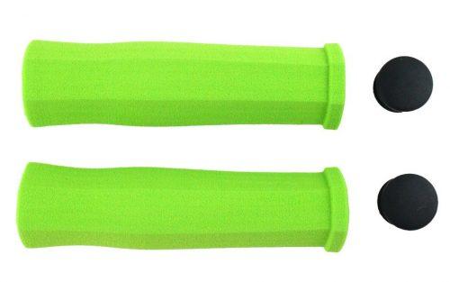 Ges Schuim Stuur Handvaten - Groen