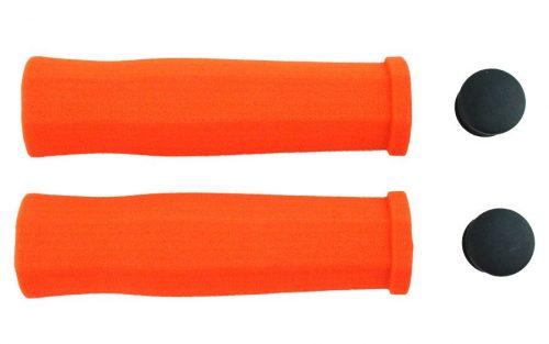 Ges Schuim Stuur Handvaten - Oranje
