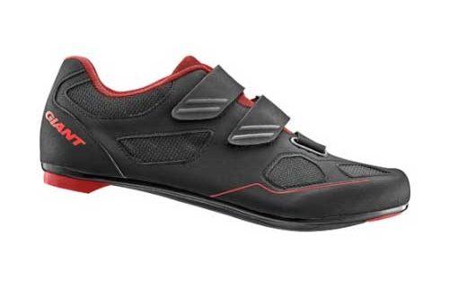 Giant Bolt wielerschoen zwart/rood