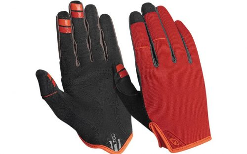 Giro DND Handschoenen - Dark Red/Orange