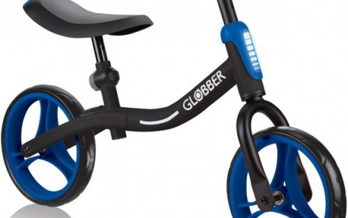 Globber - Go Bike Loopfiets 10 Inch Junior Zwart/blauw