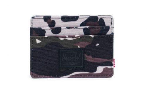 Herschel Charlie Pasjeshouder - Tiger Camo/Leopard
