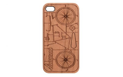 Houten cover iPhone Toy