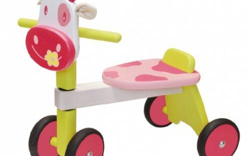 I'm Toy - Loopfiets Koe Meisjes Roze