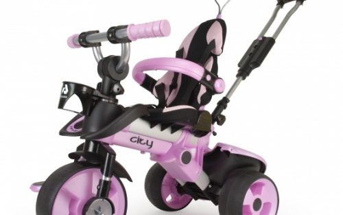 Injusa - City Trike Junior Roze