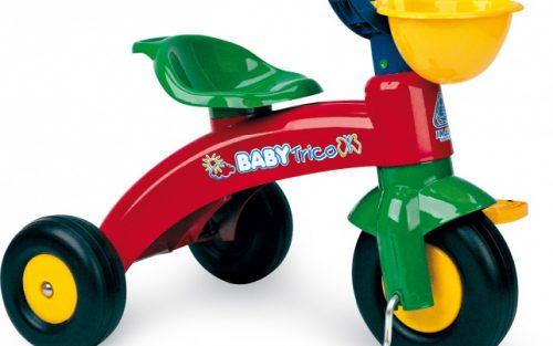 Injusa - Driewieler Baby Trico Junior Rood
