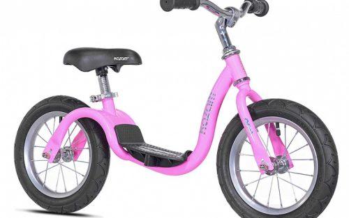 Kazam - Neo V2s Balance Bike Loopfiets 12 Inch Junior Roze