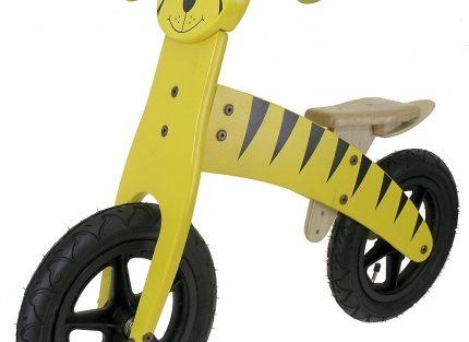 Kids Club - Loopfiets Tijger 12 Inch Junior Geel