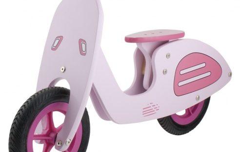 Kids Club - Loopfiets Vespa 10 Inch Meisjes Roze