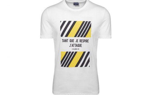 Le Coq Sportif TDF Bernard Hinault Wit T-shirt