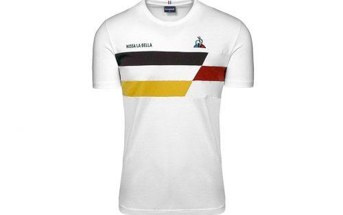 Le Coq Sportif TDF Nissa La Bella Wit T-shirt