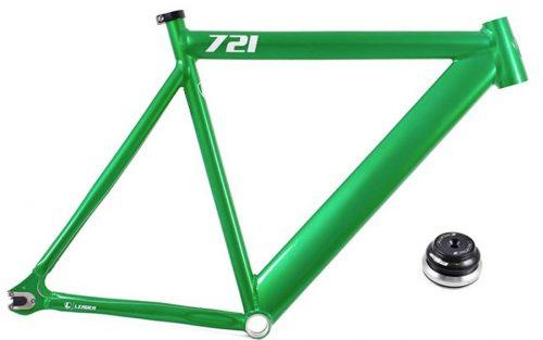 Leader 721 Frame - Groen Glitter