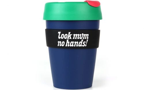 Look Mum No Hands! KeepCup Herbruikbare Koffiebeker 35cl - Blauw