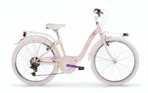 Mbm - Fleur 24 Inch 34 Cm Meisjes 6v V-brake Roze/paars