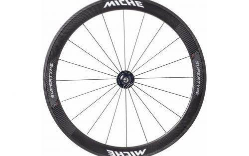 Miche Supertype Pista 50 Track Voorwiel - Carbon
