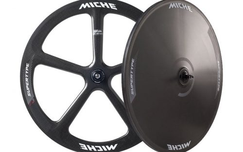 Miche Supertype Pista SPX5/Disc Track Wielenset - Carbon