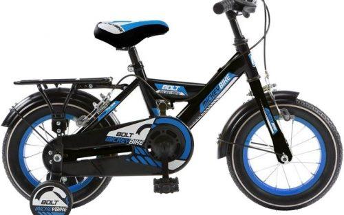 Mickeybike - Mickeybike 16 Inch 27 Cm Jongens Knijprem Zwart/blauw