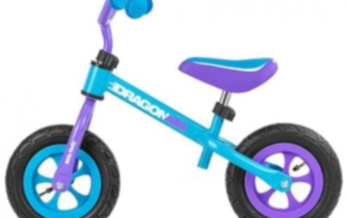 Milly Mally - Loopfiets Dragon Air 10 Inch Junior Blauw/paars