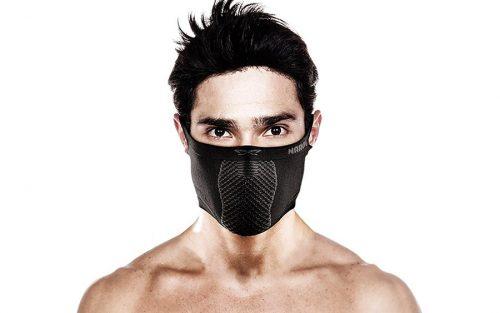 Naroo X5S Masker - Zwart/Grijs