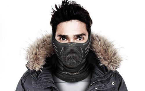 Naroo X9 Masker - Zwart/Grijs
